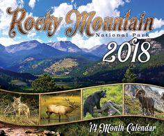 2018 Rocky Mountain National Park Calendar