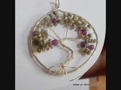 Tree of Life Pendant - A Wire Wrap Tutorial - excellent video that explains everything.