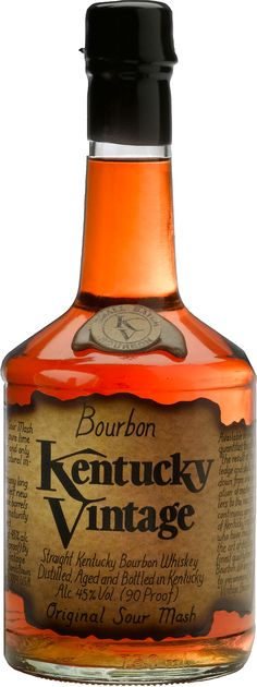 Kentucky Vintage- Bourbon Bourbon whiskey is a type of American whiskey: a… Good Whiskey, Cigars And Whiskey, Scotch Whiskey, Bourbon Whiskey, Whiskey Bottle, Tequila, Vodka, Alcohol Bottles, Liquor Bottles