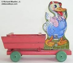 Image result for fisher price 461 duck cart