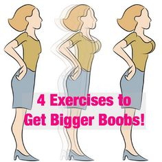 Ok ladies. Some of you don't need this but some of us do!  I thought I'd share. Not sure how true this is I came across it and figured, hey it doesn't hurt to try right? It's still a workout!!! . Top 4 Breast Enlargement Exercises 1. WALL…