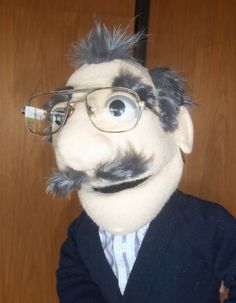 Carl by PJs Puppets  --  custom professional puppets