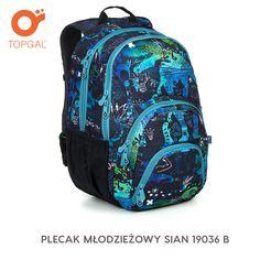 Plecak Topgal w genialnym designie dla wymagających nastolatków.