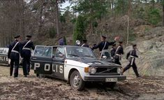 Volvo 144, 1974 Swedish police car