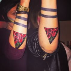 Pin for Later: 55 Creative Tattoos You'll Want to Get With Your Best Friend On Point