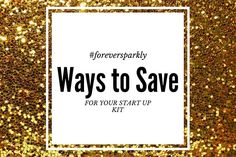Ways to Save for your Direct Sales Start Up Kit