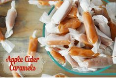 The Best Healthy Recipes: Homemade apple cider caramels. I absolutely love this recipe. Not just because it is relatively easy, but the payoff packs quite a punch. I may or may not have eaten a handful of these while taking pictures.