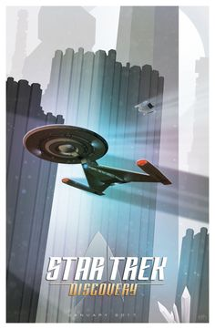 """frontier001: """"Cool fan art of Discovery from @GeekFilter on Twitter. """""""