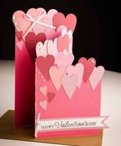 Handmade Valentine's Day Card from Colorado Cards