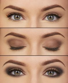 4 Ways to Use the Naked Basics Palette - nice simple look for an understated bride.