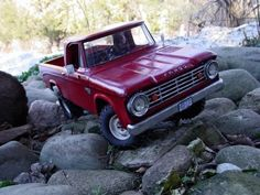 1967 Dodge...hard to believe it is a remote control truck!