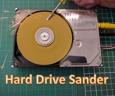 Many people have an old hard drive laying around. In this project we will put it to good use by turning it into a powerful disk sander! It's a cheap and easy project, but it has already proven to be very useful when sharpening tools and sanding though materials. Let's get building!