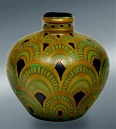 Charles Catteau - Art Deco vase