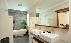 bathroom? Private Pool, Bathrooms, Villa, Bathtub, Luxury, Building, House, Standing Bath, Bathtubs
