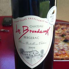 Bij de pizza... 22 juni 2012 - Les Brandeaux uit Bergerac - Medaille d'Or 2010 - ***