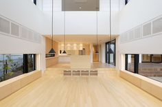 white + light bamboo + all kinds of screening - edward suzuki architecture