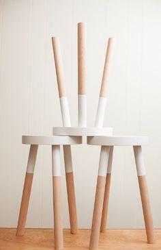 Geef je interieur een nieuwe look door een meubel waar je op uitgekeken bent te schilderen. Extra...