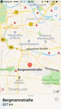 Next time Bergmann Strasse