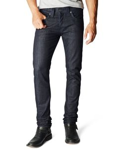 ROCCO - STRAIGHT LEG RELAXED SKINNY DENIM FOR MEN WITH SIGNATURE BACK POCKET FLAP - True Religion