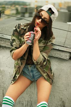 #swag #girl #snapback