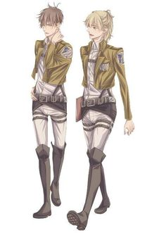 Armin and Jean adult version
