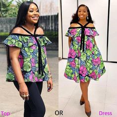 Fabulous Ankara Styles Of 2019 Fabulous Ankara Styles Of one thing to wear ankara fashion styles to your wedding or regular hangouts, it's another thing entirely to appear beautiful in those ankara styles. If any ankara st Short African Dresses, African Blouses, African Print Dresses, African Fashion Ankara, Latest African Fashion Dresses, African Print Fashion, African Attire, African Wear, Unique Ankara Styles