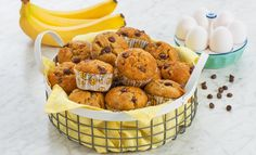 One Bowl Banana & Chocolate Chip Muffins