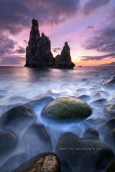 The Dragon´s Boulder by Duarte Sol ~ Beautiful Ribeira da Janela in Madeira Island, Portugal* Beautiful Places To Visit, Oh The Places You'll Go, Beautiful World, Places To Travel, Portugal, Landscape Photography, Nature Photography, Destinations, Amazing Nature