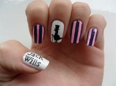 Jack Wills nails - Nail Art Gallery by NAILS Magazine