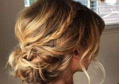 Casual Updos for Medium Hair Updos for Medium Layered Hair Casual Updos For Medium Hair, Up Dos For Medium Hair, Short Hair Updo, Long Curly Hair, Medium Hair Styles, Curly Hair Styles, Ball Hairstyles, Messy Hairstyles, Layerd Hair