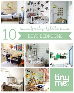 10 Lovely Little Boys Bedrooms ~ Tinyme