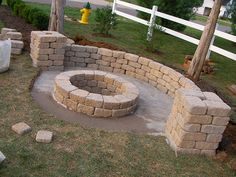 DIY fire pit I have a summer project!!!