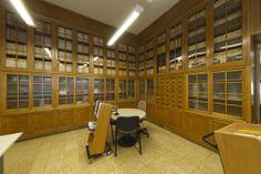 Área de Procesos Técnicos. Detalle Experimental, Basketball Court, Special Library, Science Area, Zaragoza, Classroom