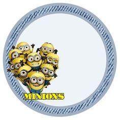 "Kit Birthday ""Minions"" (Amarelinhos movie ""Despicable Me"") for Print - Digital Invitations Simple"