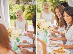 How to Plan a Bridesmaid Luncheon. #weddings #bridesmaids #luncheon
