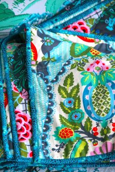 Amy Butler's Cameo Fabrics - would love to use this fabric for a quilt back