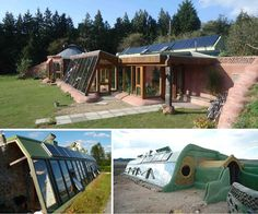 earthships apparence exterieure