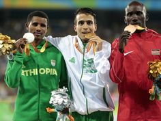 1st, 2nd, 3rd=AFRICAN POWER A disabled middle-distance runner shattered the 1500m Paralympic world record after winning gold at the Rio Paralympic Games, beating Olympic champion Matthew Centrowitz by more than 1.7 seconds. Abdellatif Baka of Algeria won the T13 1500m final on Monday night in a stunning performance that not only set a new Paralympic world record, but stands as the fastest 1500m time recorded by an able-bodied or disabled athlete in Rio over both the Olympic and Paralympic…