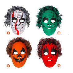Careta de Halloween #mascaras #antifaces #carnaval