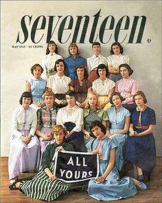 Seventeen magazine 1949 May by AngoraSox, via Flickr