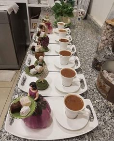 Christmas Coloring Pages, Turkish Coffee, Christmas Colors, Coffee Time, Table Settings, Pudding, Tea, Health, Desserts