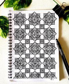 Lilly Tattoo Design, Tattoo Designs, Design Mandala, Mandala Art, Lillies Tattoo, Tangled, Design Art, Grid Notebook, Geometric Patterns