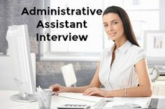 Administrative assistant interview questions with excellent interview answers. Know the top questions to expect in your administrative assistant job interview and find out how to prepare for interview success. Interview Follow Up Email, Interview Thank You, Interview Questions And Answers, Job Interview Tips, Interview Preparation, Administrative Assistant Interview Questions, Administrative Assistant Job Description, Administrative Jobs, Office Admin Jobs