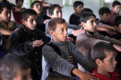 El taekwondo de la resistencia #Taekwondo   #Zaatari   #Jordania   #Refugiados   #Siria   #Niños