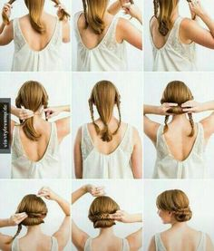 Braided up do tutorial. Great for work or an interview!