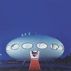 Futuro House designed in 1968 by Finnish architect Matti Suuronen