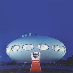 Futuro House designed in 1968 by Finnish architect Matti Suuronen