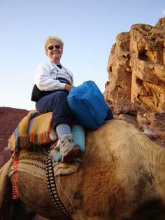 I don't always ride camels, but when I do, I prefer to protect my feet with Thorlos.