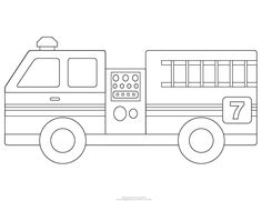 Fire Engine Template