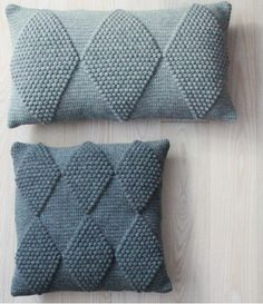 Crocheted pillows -- inspiration
